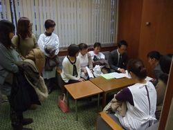 11/21 愛知県議会の会派を9組織17名で回り看護師不足の実態等を訴え紹介議員を求めました
