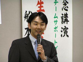 舩木医師の講演