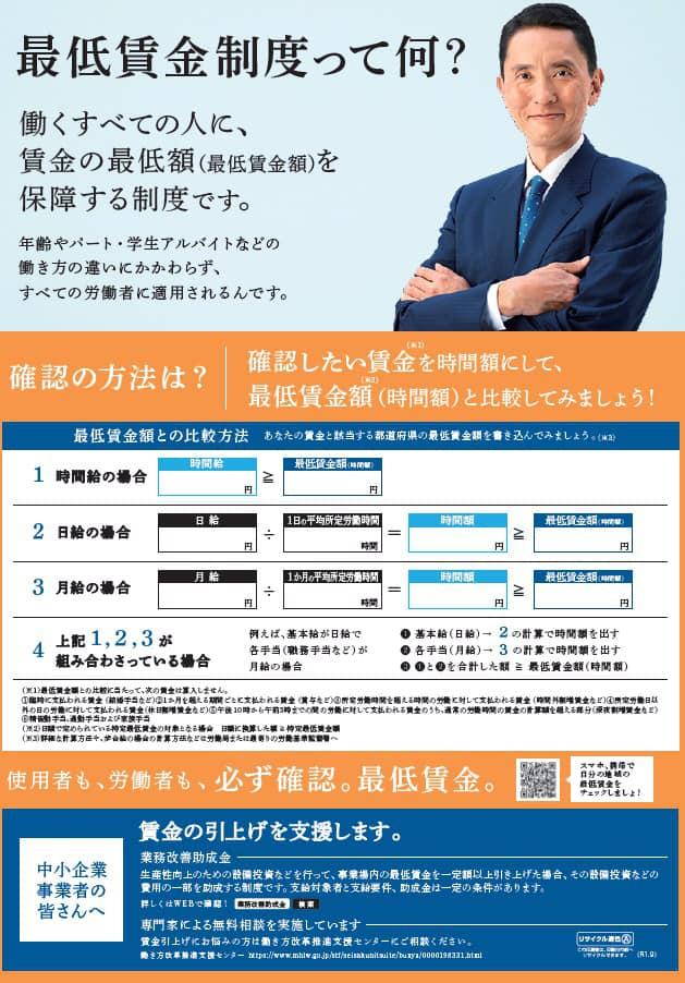 賃金 最低 愛知 県